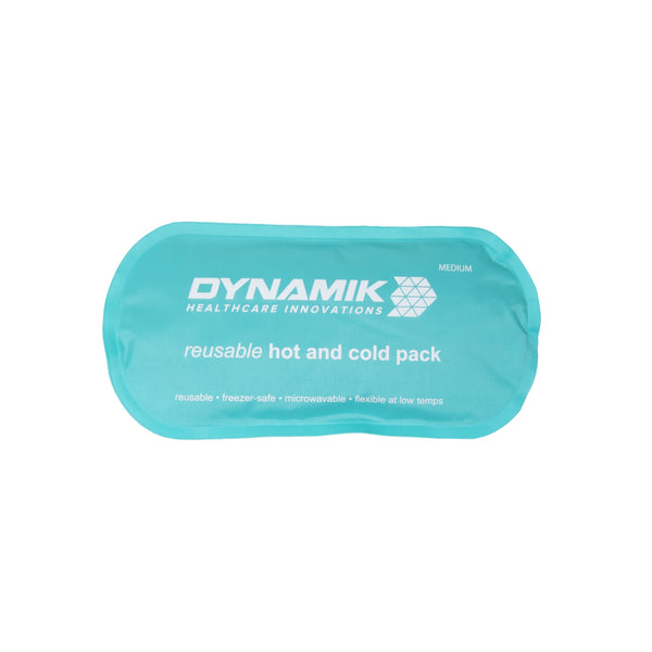 Dynamik Products Multi-Purpose Hot/Cold Gel Pack with Neoprene Wrap for Pain Relief