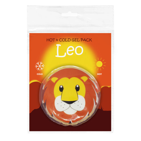 Dynamik Products Reusable Hot and Cold Gel Pack - Leo Lion