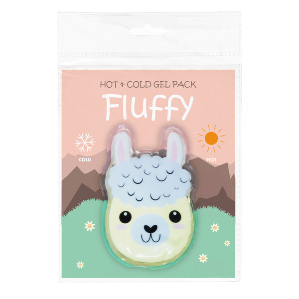 Dynamik Products Reusable Hot and Cold Gel Pack - Fluffy Llama