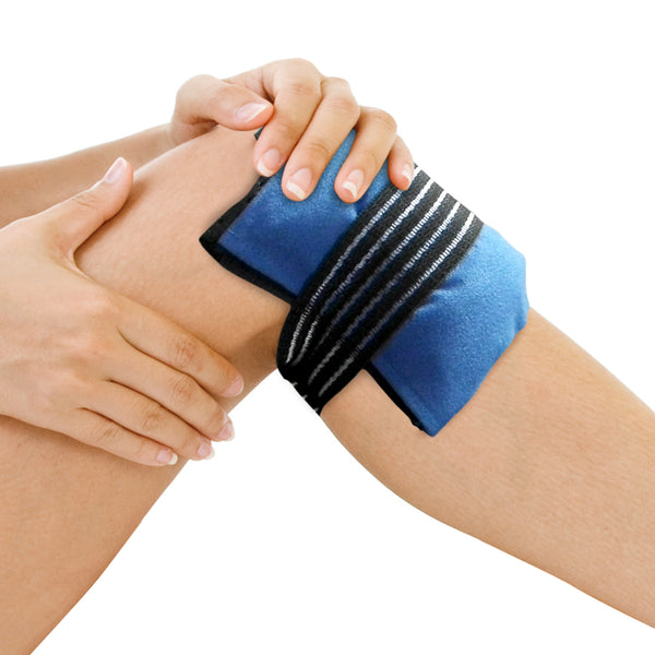Knee Wrap - Hot Cold Gel Pack Compress Wrap for Knee Pain - Gelpacks Direct