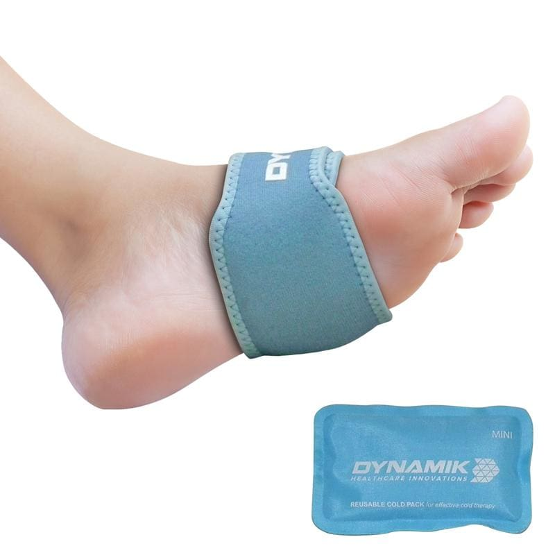 Dynamik Cold Mini Gel Pack with Neoprene Wrap for Hand, Foot and Wrist Pain Relief