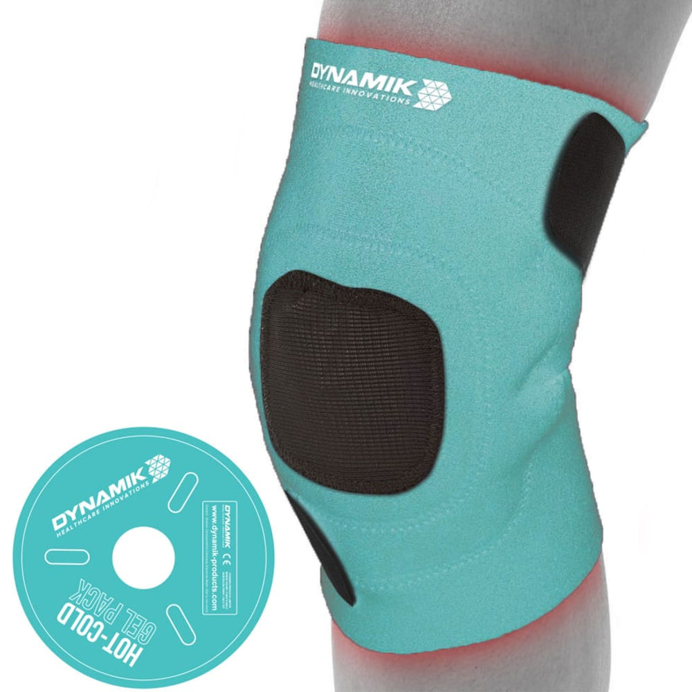 Dynamik Hot Cold Gel Pack with Neoprene Wrap for Knee Pain Relief