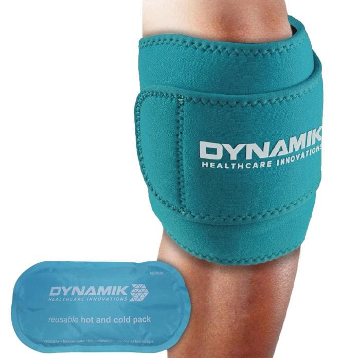Dynamik Multi-Purpose Hot/Cold Gel Pack with Neoprene Wrap for Pain Relief