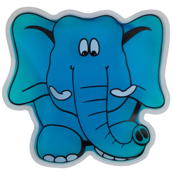 Koolkids Reusable Hot and Cold Gel Pack - Elly the Elephant - Gelpacks Direct