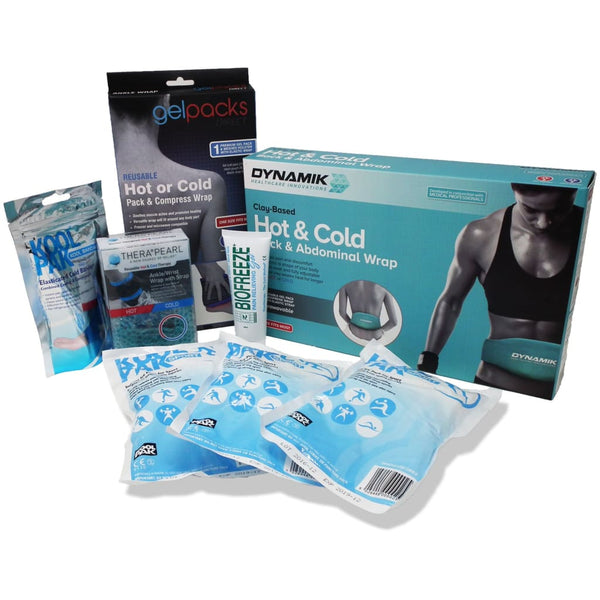 Premium Boxing Bundle - Collection Of Superior Pain Relief Products - Gel Pack + Wrap