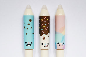 Kawaii pencil-top fineliner erasable gel pen