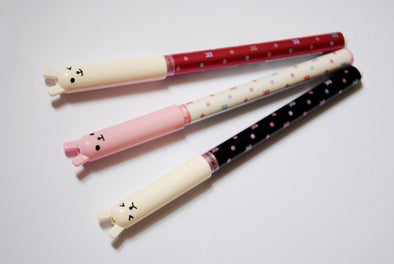 Kawaii animal spotty fineliner gel pen