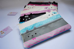 Cute bow kitty pencil case