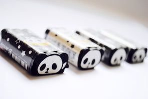 Kawaii pleasant panda eraser