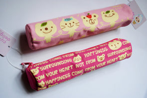 Kawaii in-the-pink pencil case