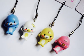 Kawaii small seal phone charm