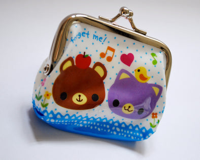 Kawaii colourful coin purse