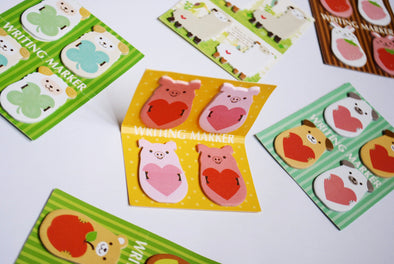 Kawaii animal mini sticky memo notes