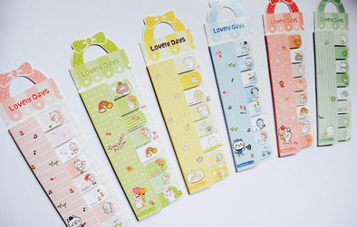 Kawaii Lovely Days sticky page markers