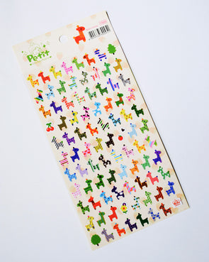 Cute giraffe small seal stickers