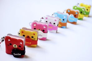 Kawaii mini animal notebook phone charm