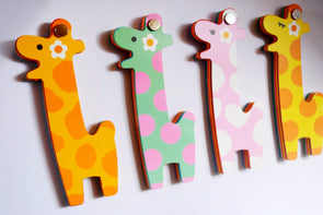 Laughing giraffe calf notepad