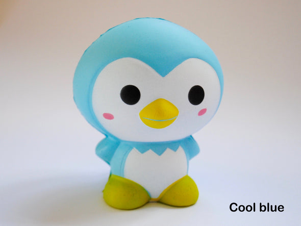 Kawaii pastel penguin scented squishy