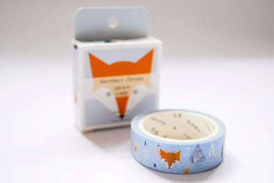 Crafty ginger fox washi tape
