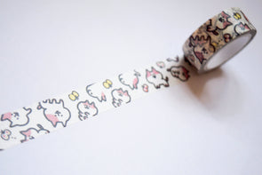 Kawaii pretty kitty washi tape