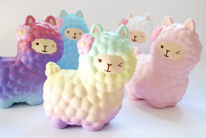 Vlampo medium kawaii alpaca scented slow-rising squishy