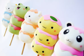 Kawaii sweet dango squishy