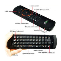 Rkm Mk705 2.4Ghz Wireless Mini Keyboard/Air Mouse/Smart Tv/Android Tv Box