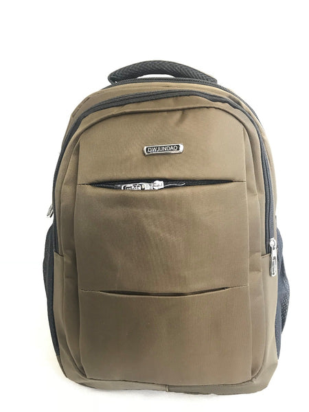 Lightweight High-Performance Backpack - Brown Laptop Compartment Durable