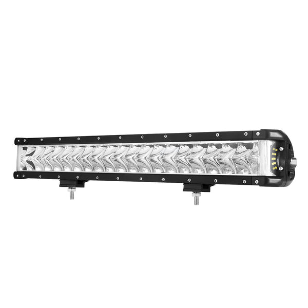 22Inch Led Light Bar Cree Spot Flood Combo Side Shooter Offroad Driving 4X4
