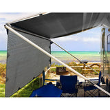 Weisshorn Caravan Roll Out Awning 4 X 1.8M - Grey Water & Uv Resistant