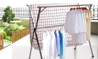 Stainless Foldable Clothes Airer Drying Rack 150-240Cm