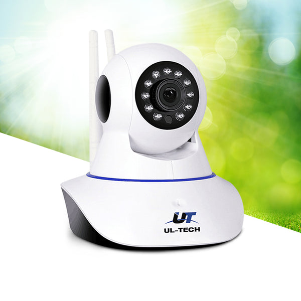 Ul Tech 1080P Ip Wireless Camera - White - High Res - Day & Night Vision