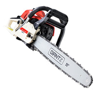 Giantz 75Cc Petrol Commercial Chainsaw Chain Saw Bar E-Start Pruning