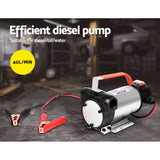 Giantz 12V Bio Diesal Transfer Pump 40/L High Flow Auto Cut-Off Trigger