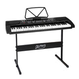 Alpha 61 Keys Led Electronic Piano Keyboard 255 Timbres 255 Rhythms Adj Stand
