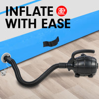 600W Electric Airtrack Inflatable Pump Blower