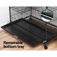 I.Pet 4 Level Pet Cage - Black