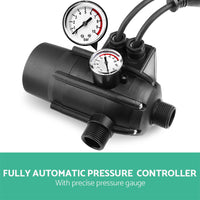 Giantz 2300W High Pressure Garden Jet Water Pump With Auto Controller