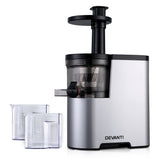 Devanti Cold Press Slow Juicer Silver