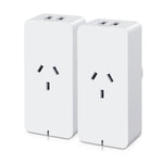 2X Wifi Smart Plug Home Socket Switch Outlet App Control Usb Port Alexa Amazon