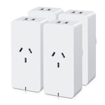 4X Wifi Smart Plug Home Socket Switch Outlet App Control Usb Port Alexa Amazon
