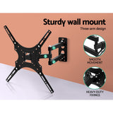Artiss Tv Wall Mount Monitor Bracket Swivel Tilt 24 32 37 40 42 47 50 Inch Led Lcd