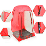 Pop Up Sports Camping Festival Fishing Garden Tent Red