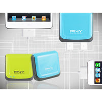 Pny Power Bank 52S Green 5200Mah 2 Usb Outputsmart Power Management