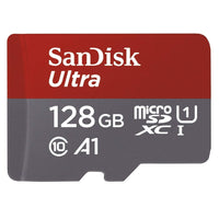 Sandisk Sdsquar-128G-Gn6Mn Micro Sdxc Ultra A1 Class 10 100Mb/S No Adapter