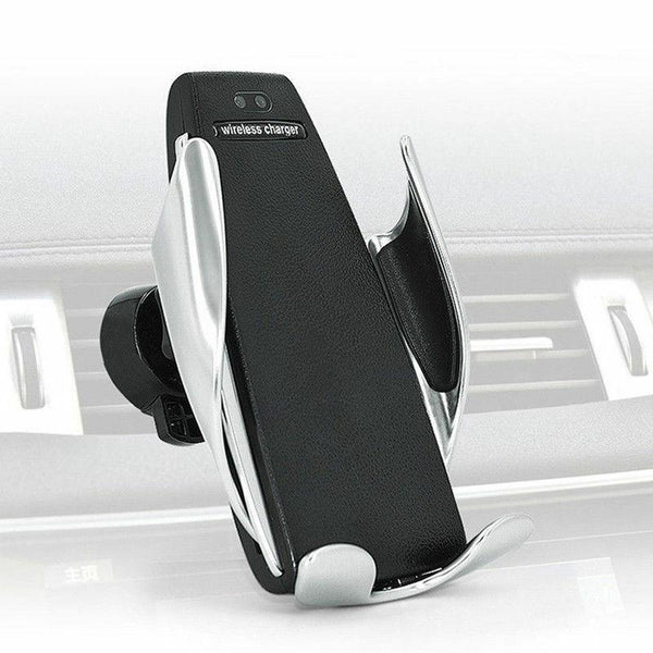 Automatic Clamping Wireless Car Charger Mount For Iphone Samsung Type-C Phones