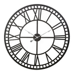 Wall Clock Large Modern Vintage Retro Metal Clocks 60Cm Home Office Decor