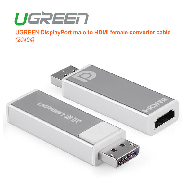 Ugreen Displayport Male To Hdmi Female Converter (20401)