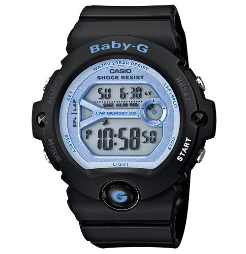 Casio Baby-G Digital Female Black Watch Bg-6903-1Dr
