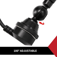 Car Antenna Am/Fm Radio Black Rubber Duck With Cable Suits 4X4 Truck Caravan